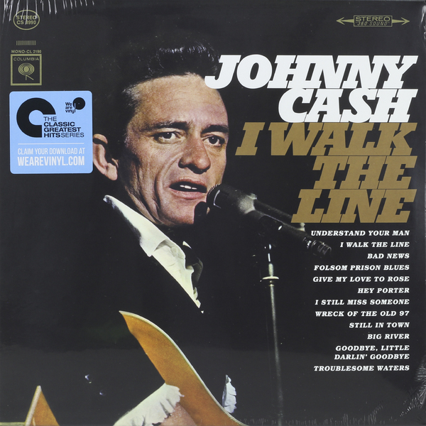 Johnny Cash Johnny Cash - I Walk The Line виниловая пластинка cash johnny out among the stars