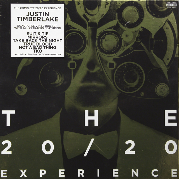 Justin Timberlake Justin Timberlake - 20/20 Experience: Complete (4 LP) виниловая пластинка justin timberlake soundtrackthe book of love