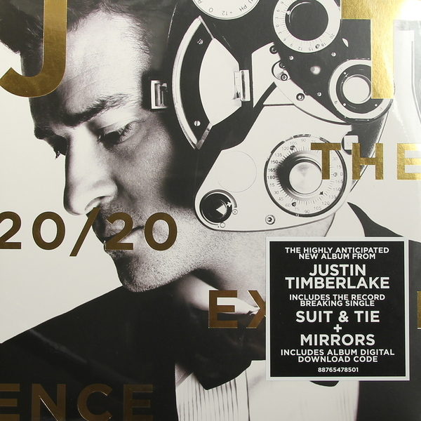 Justin Timberlake Justin Timberlake - 20/20 Experience виниловая пластинка justin timberlake soundtrackthe book of love