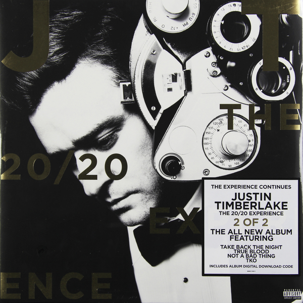 Justin Timberlake Justin Timberlake - The 20/20 Experience. Part 2 (2 LP) стоимость