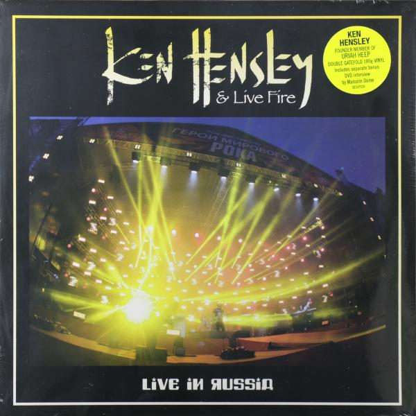 Ken Hensley Live Fire Ken Hensley Live Fire - Live In Russia (2 Lp+dvd)