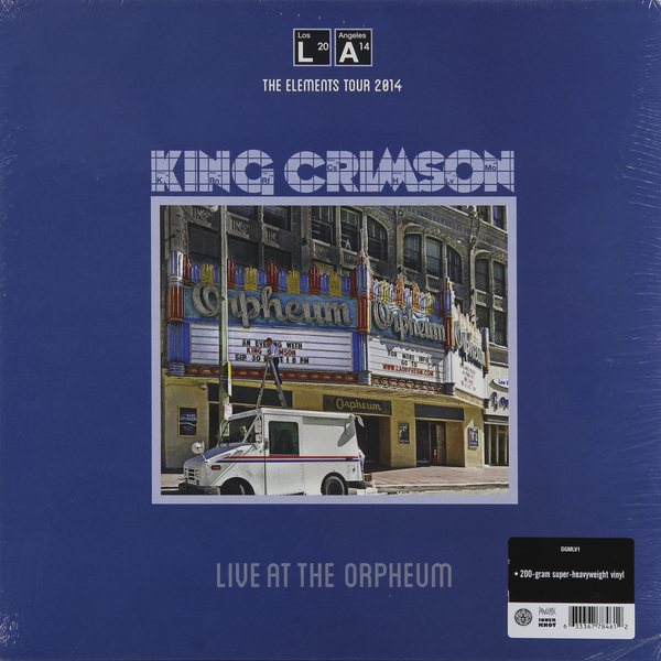 лучшая цена King Crimson King Crimson - Live At The Orpheum (200 Gr)
