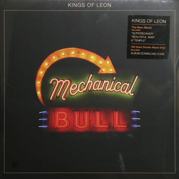 Kings Of Leon Kings Of Leon - Mechanical Bulls (2 Lp, 180 Gr) цена 2017