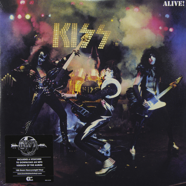 купить KISS KISS - Alive ! (2 LP) дешево
