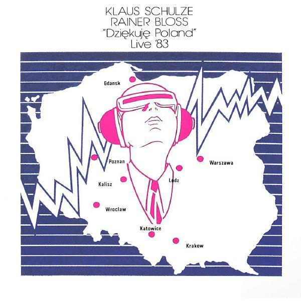 Klaus Schulze Klaus Schulze - Dziekuje Poland Live '83 (2 LP)