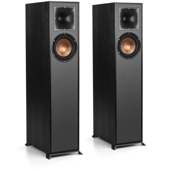 лучшая цена Напольная акустика Klipsch R-610F Black