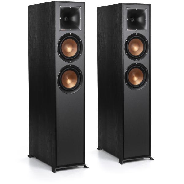 Напольная акустика Klipsch R-625FA Black цена