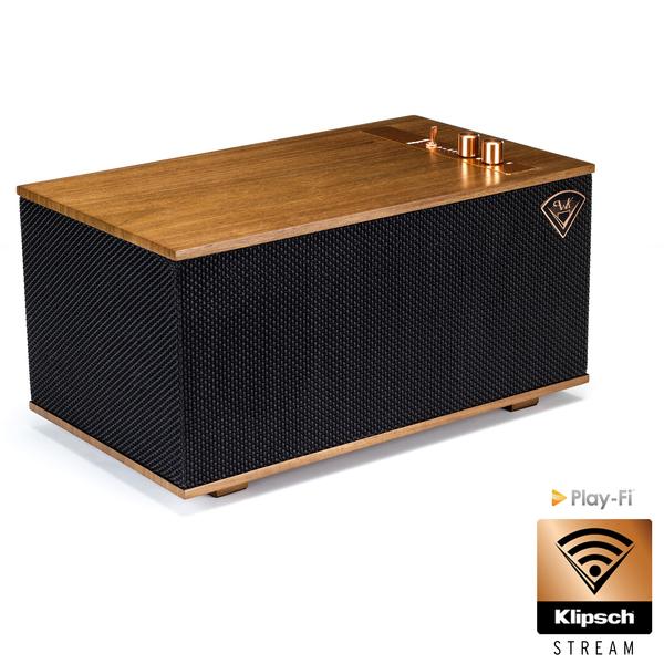 Беспроводная Hi-Fi акустика Klipsch The Three Walnut комплект кабелей для hi fi акустики klipsch khtk16100r