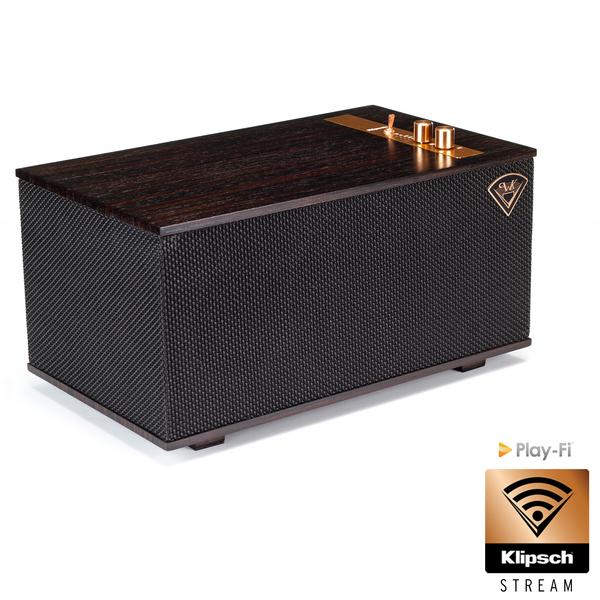 Беспроводная Hi-Fi акустика Klipsch The Three Ebony комплект кабелей для hi fi акустики klipsch khtk16100r
