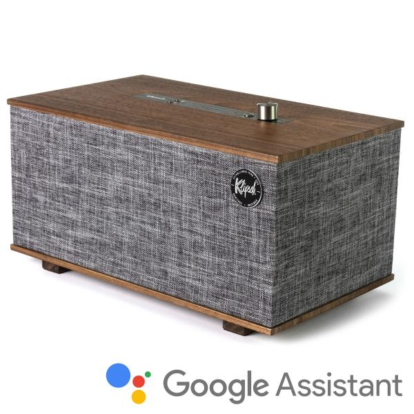 Беспроводная Hi-Fi акустика Klipsch The Three with Google Assistant Walnut