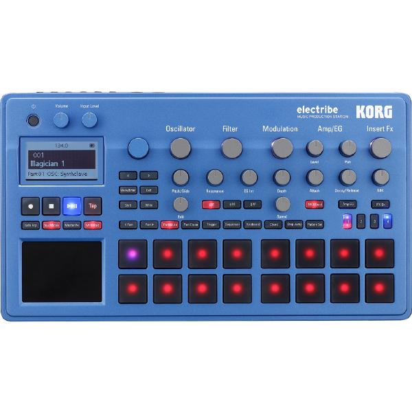 Драм-машина Korg ELECTRIBE2 Blue korg microkey2 37
