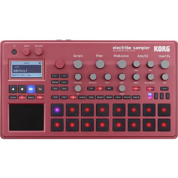 Драм-машина Korg ELECTRIBE2S Red