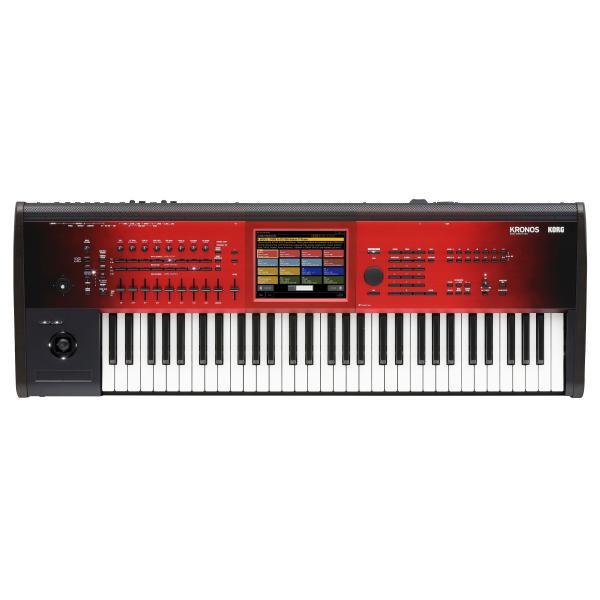 Синтезатор Korg KRONOS2-61 SE Black/Red korg pa4x or 61
