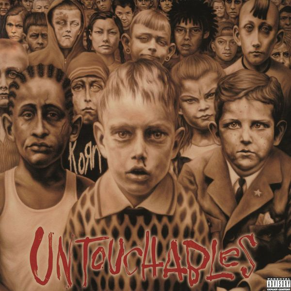 KORN KORN - Untouchables (2 LP) korn korn the path of totality special edition cd dvd