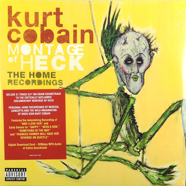 Kurt Cobain - Montage Of Heck (2 LP)