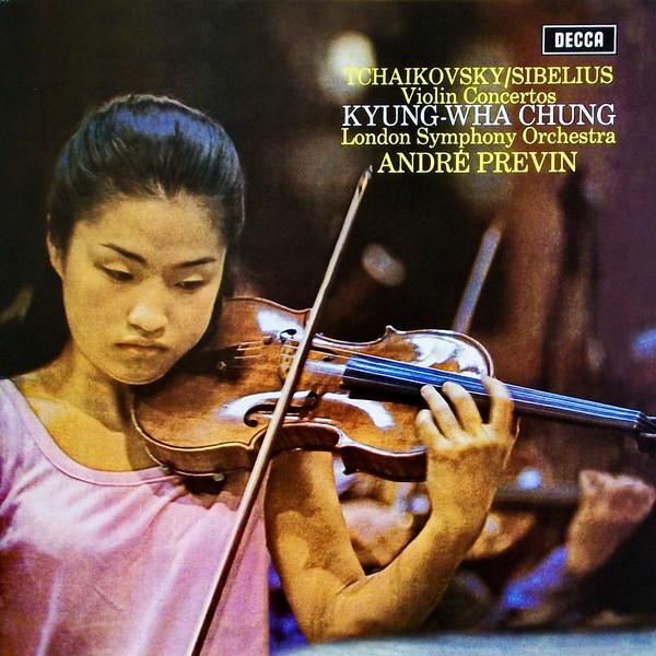 Tchaikovsky, Sibelius, Kyung-wha Chung, London Symphony Orchestra, Andre Previn - Violin Concertos