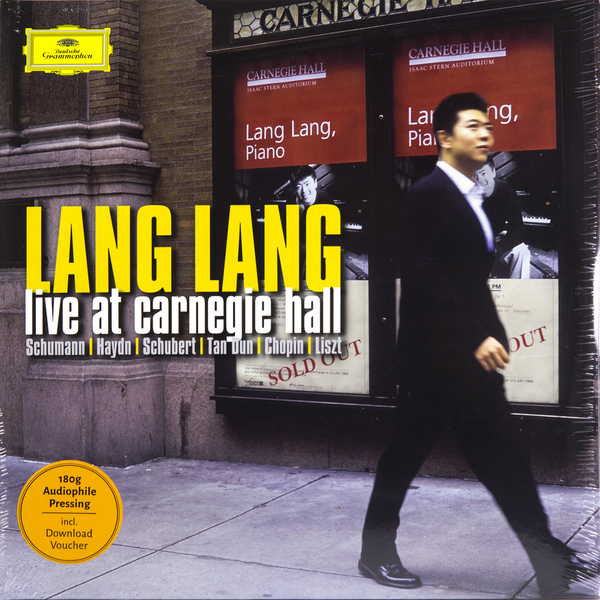 Lang Lang Lang Lang - Live At Carnegie Hall (2 Lp, 180 Gr) цена в Москве и Питере