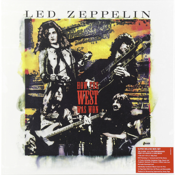 Led Zeppelin Led Zeppelin - How The West Was Won (3 Cd+4 Lp+dvd) led zeppelin led zeppelin in through the out door 2 lp