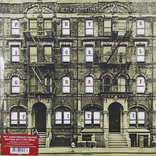 Led Zeppelin Led Zeppelin - Physical Graffiti (3 LP) led zeppelin led zeppelin in through the out door 2 lp