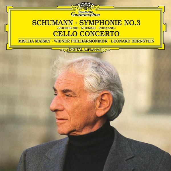 Schumann SchumannLeonard Bernstein - : Symphony No.3, Cello Concerto In A Minor c graupner concerto for 2 flutes in e minor gwv 322