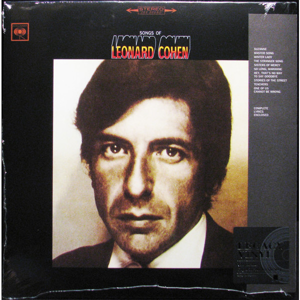 Leonard Cohen Leonard Cohen - Songs Of Leonard Cohen виниловая пластинка cohen leonard songs of love and hate