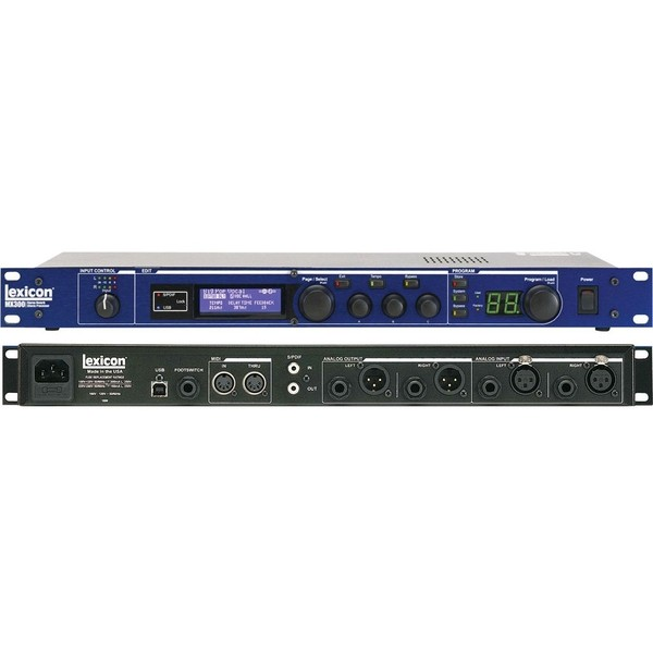 Процессор эффектов Lexicon MX300 zoom g5n black процессор эффектов для электрогитары