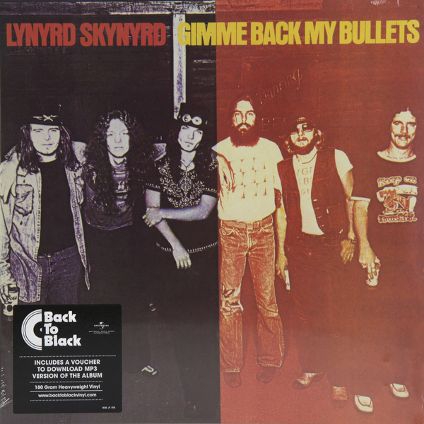 Lynyrd Skynyrd - Gimme Back My Bullets (180 Gr)