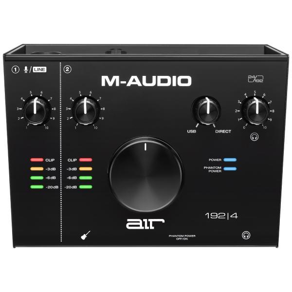 Внешняя студийная звуковая карта M-Audio AIR 192 | 4
