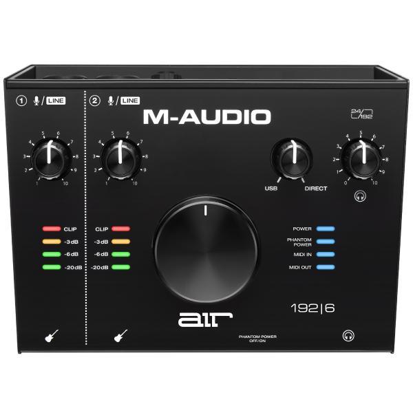 Внешняя студийная звуковая карта M-Audio AIR 192 | 6