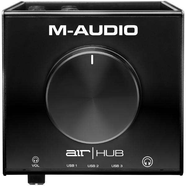 Внешняя студийная звуковая карта M-Audio AIR Hub