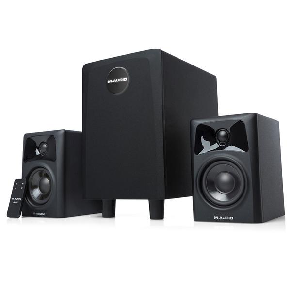 Комплект акустики 2.1 M-Audio AV32.1 Black (уцененный товар)