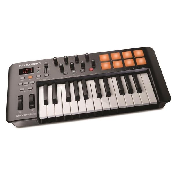 MIDI-клавиатура M-Audio Oxygen 25 MK IV meibes сервопривод mk 25 32