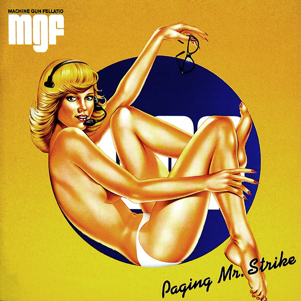 Machine Gun Fellatio - Paging Mr Strike (2 Lp, Colour)