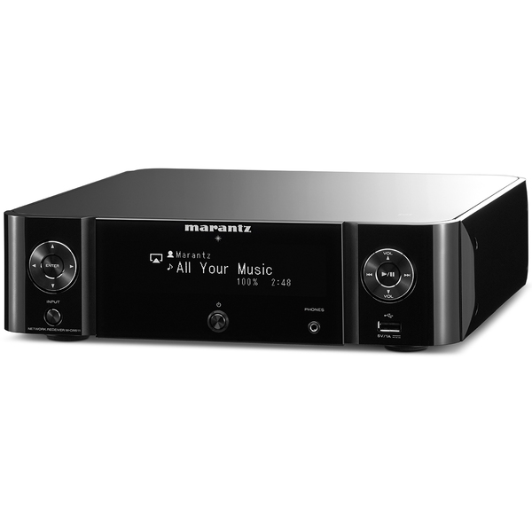 Стереоресивер Marantz M-CR511 Melody Stream Black marantz m cr611 black