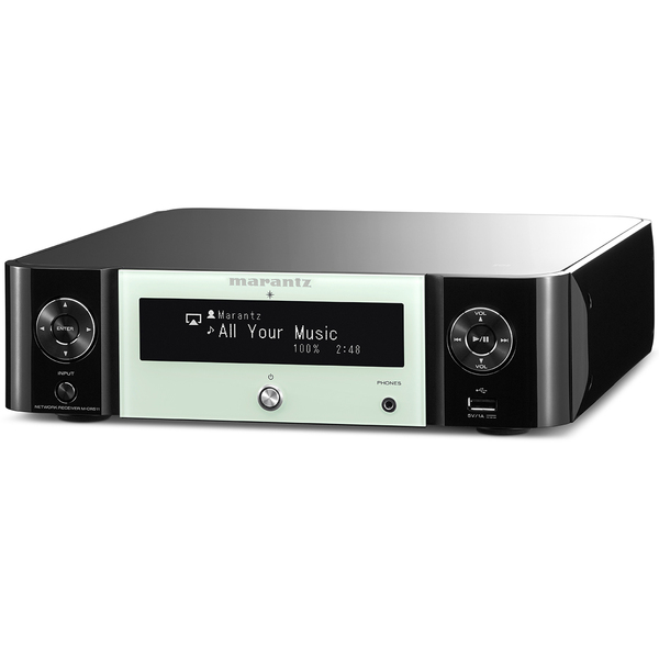 Стереоресивер Marantz M-CR511 Melody Stream Black/Green marantz m cr611 black