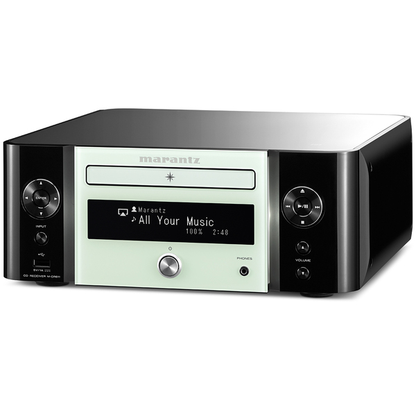CD ресивер Marantz M-CR611 Melody Media Black/Green marantz m cr611 black