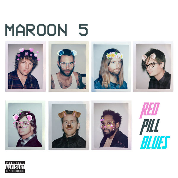 Maroon 5 Maroon 5 - Red Pill Blues (2 Lp, Colour)