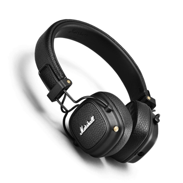 Беспроводные наушники Marshall Major III Bluetooth Black наушники marshall mid bluetooth black