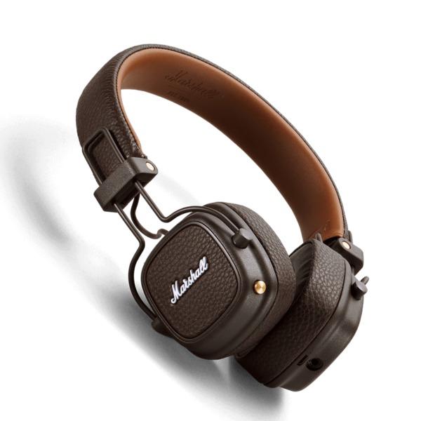 Беспроводные наушники Marshall Major III Bluetooth Brown беспроводные наушники marshall minor ii black bluetooth