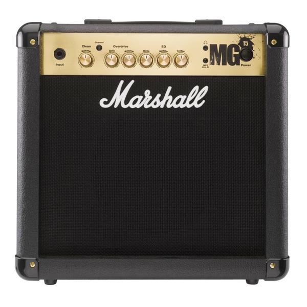 Гитарный комбоусилитель Marshall MG15G marshall mg101cfx гитарный комбоусилитель black