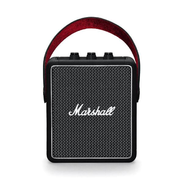 цена Портативная колонка Marshall Stockwell II Black онлайн в 2017 году
