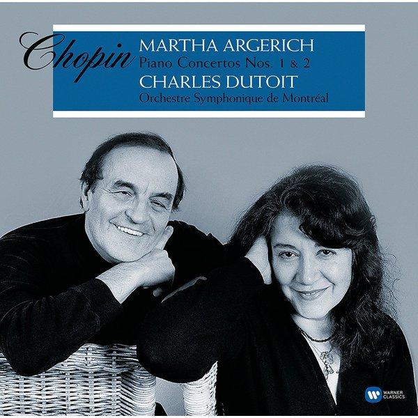 лучшая цена Chopin ChopinMartha Argerich - : Piano Concertos Nos. 1 2 (2 LP)