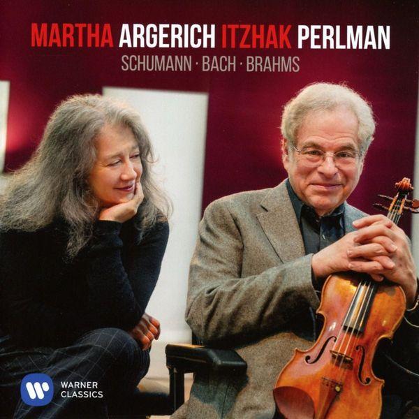 Martha Argerich Itzhak Perlman - Schumann, Bach, Brahms (180 Gr)