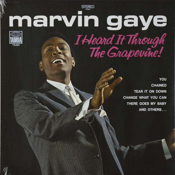 Marvin Gaye Marvin Gaye - I Heard It Through The Grapevine марвин гэй marvin gaye m p g lp