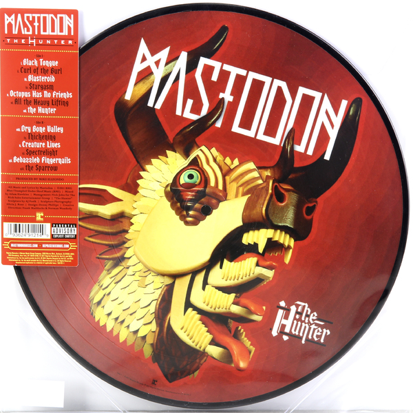 лучшая цена Mastodon Mastodon - The Hunter (picture Disc)