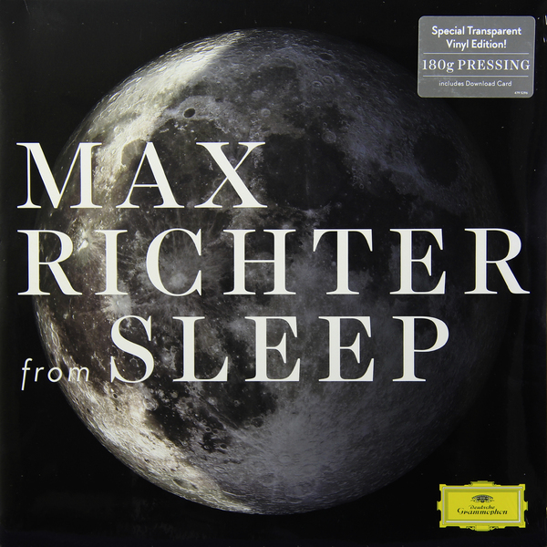 лучшая цена Max Richter Max Richter - From Sleep (2 Lp, 180 Gr) Transparent