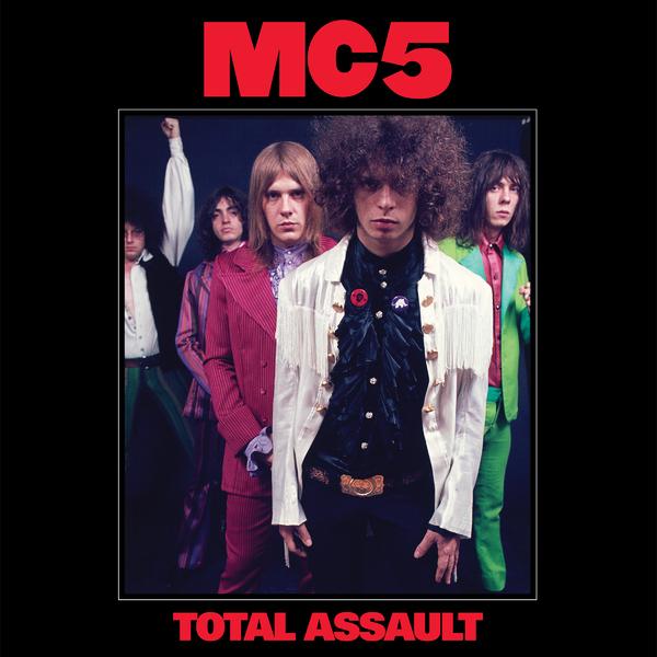 MC5 MC5 - Total Assault: 50th Anniversary Collection (3 Lp, Colour) mc5 vancouver