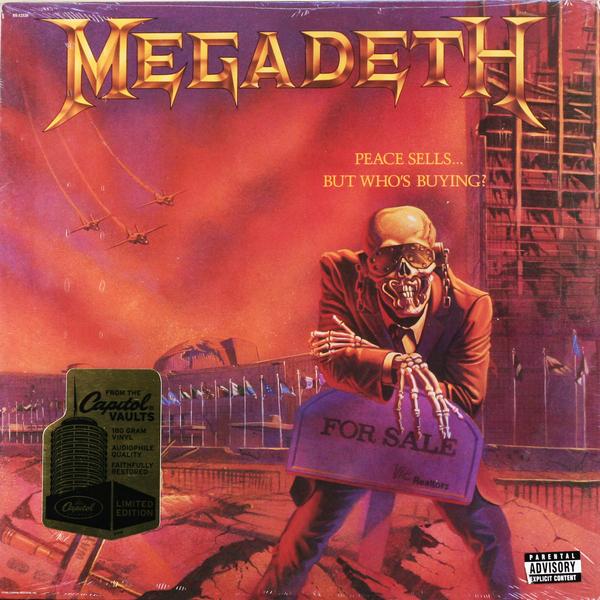 лучшая цена Megadeth Megadeth - Peace Sells… But Who's Buying? (180 Gr)