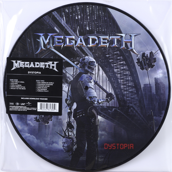 Megadeth Megadeth - Dystopia (picture Disc) dystopia cd