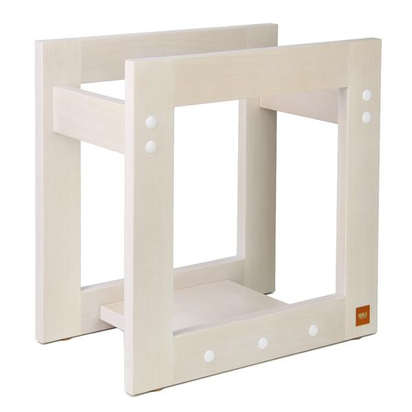 Подставка для виниловых пластинок Merkle Window Small White